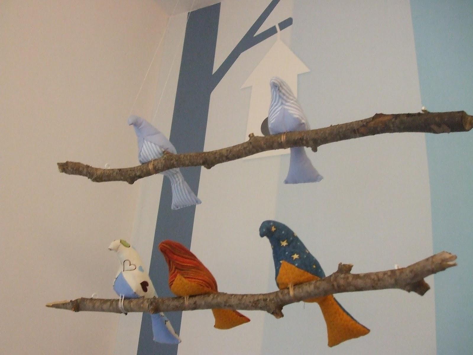 Móvil de pájaros / Bird Mobile