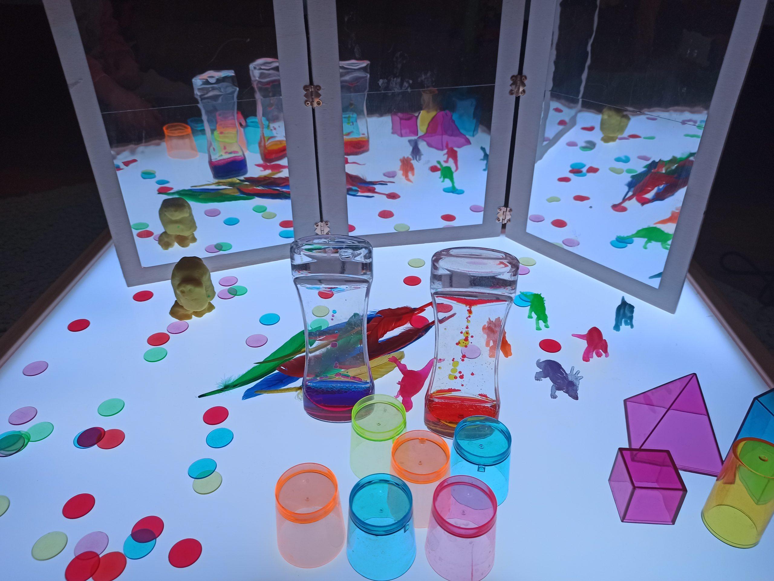 Materiales para iniciarse con la mesa de luz