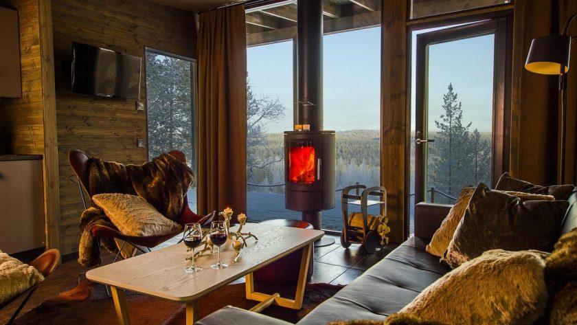 Dónde dormir en Rovaniemi: Laponia