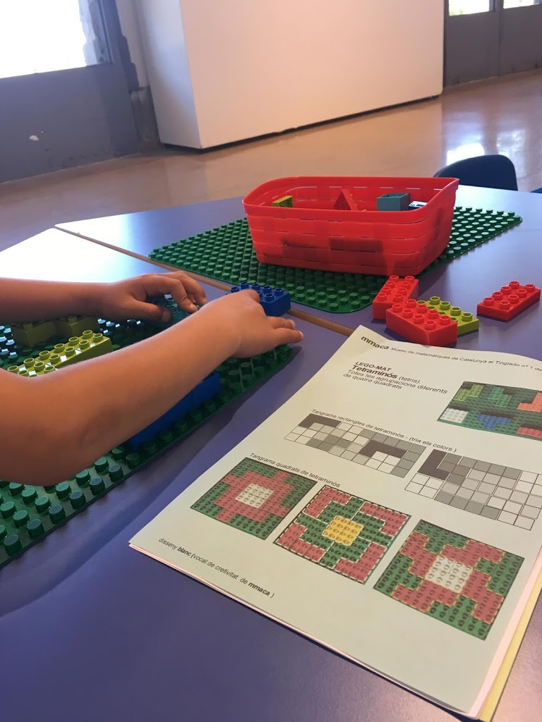 Matemáticas con Lego