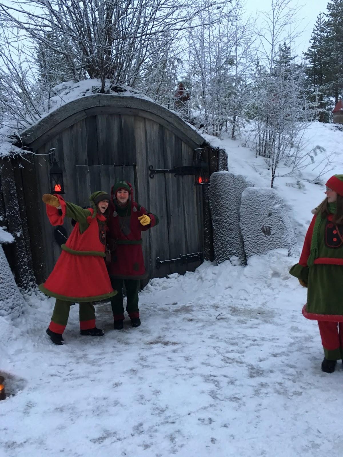 Cómo conocer a Santa Clau en Laponia