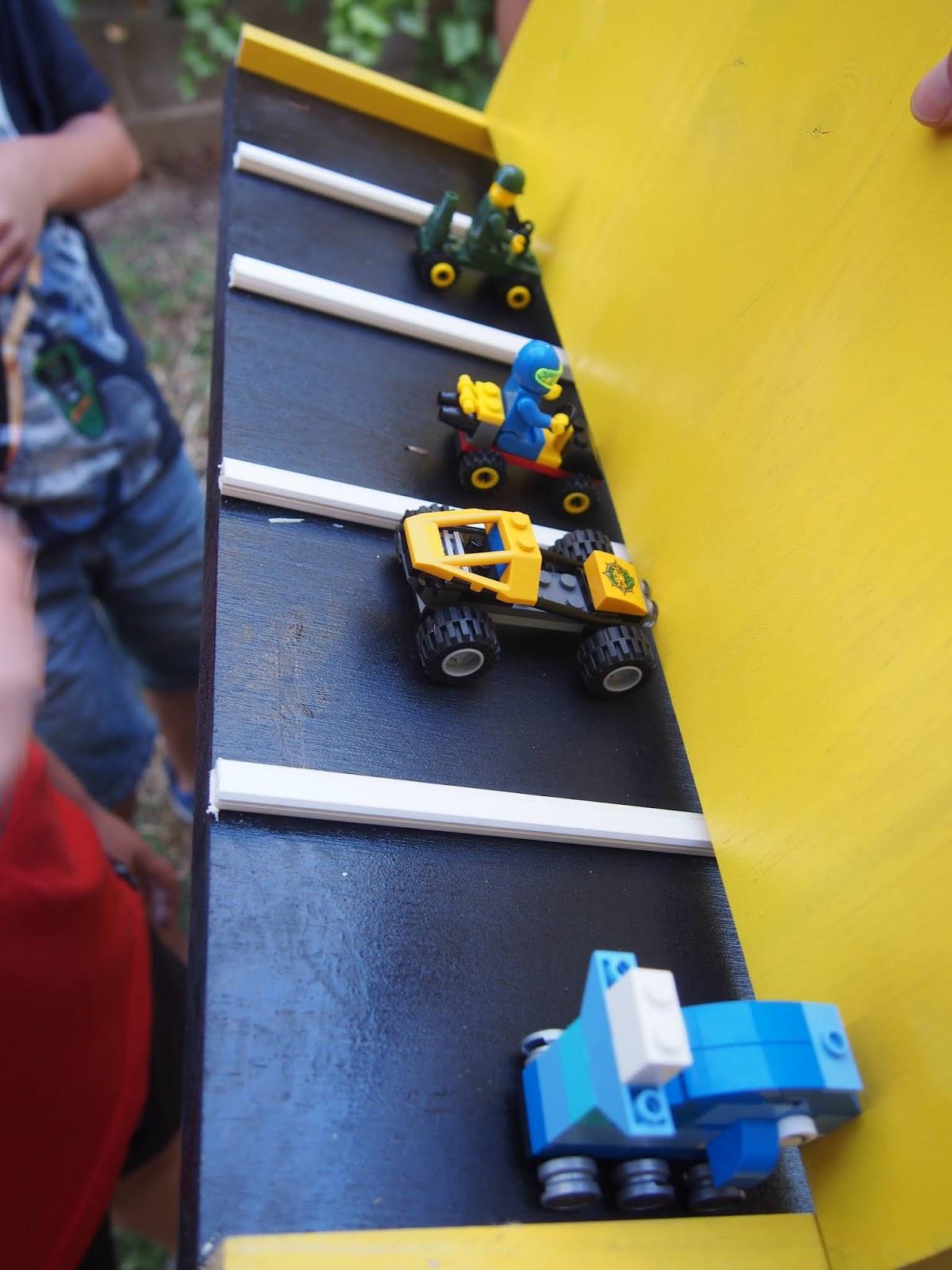 Actividad para fiestas de cumpleaños de coches