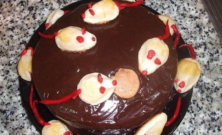 Pastel de ratoncitos sin gluten