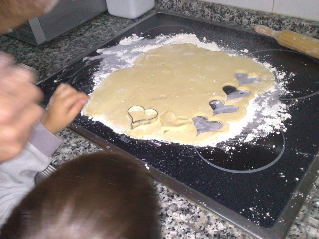 Galletas sin gluten para San Valentín