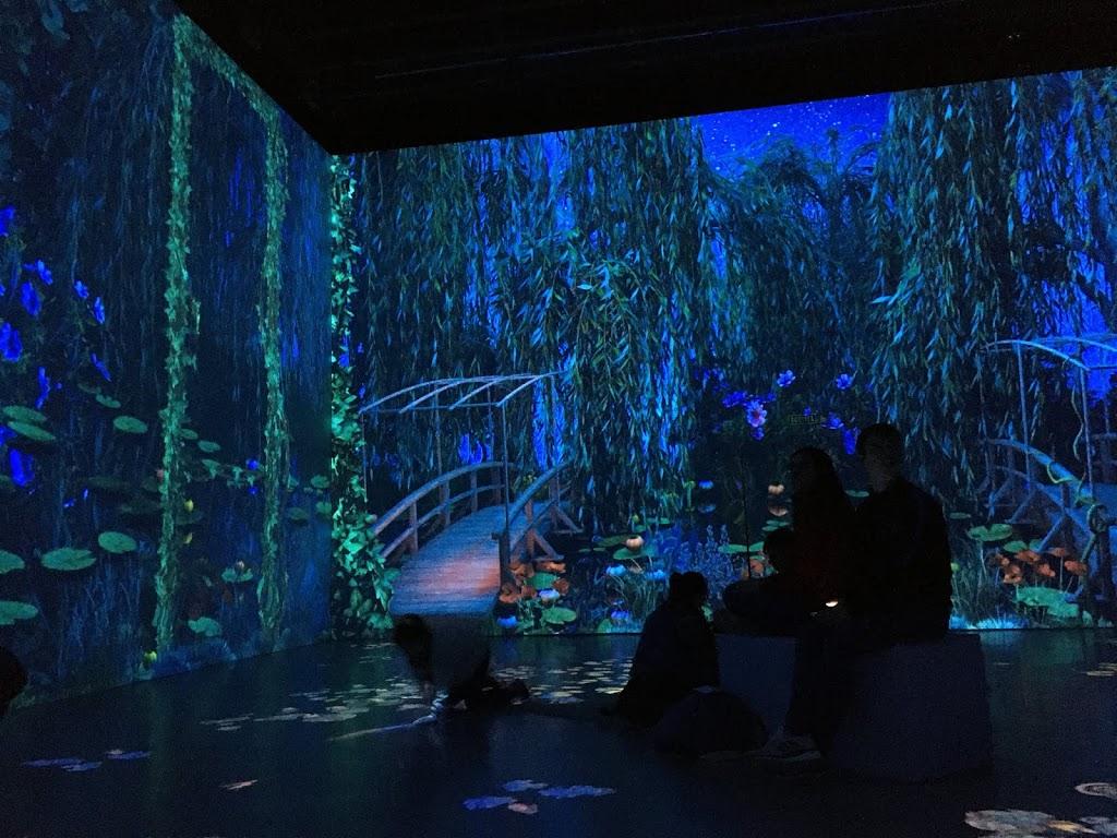 Monet la experiencia inmersiva