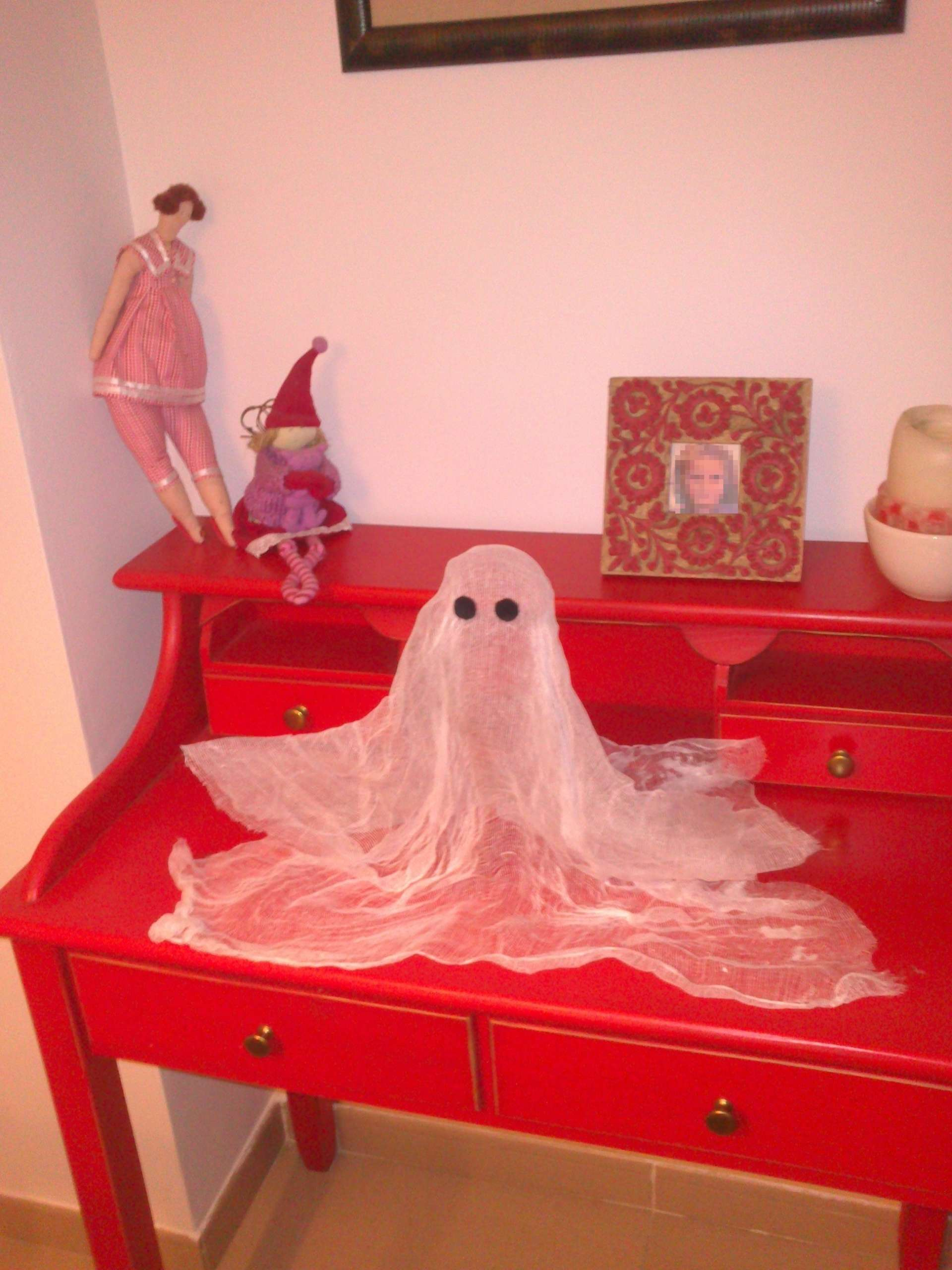 Cómo hacer un fantasma flotante