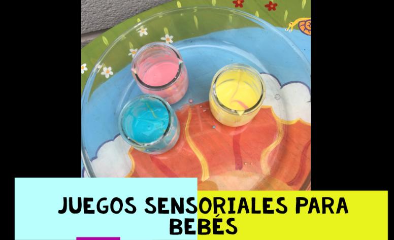 Juegos sensoriales para bebés