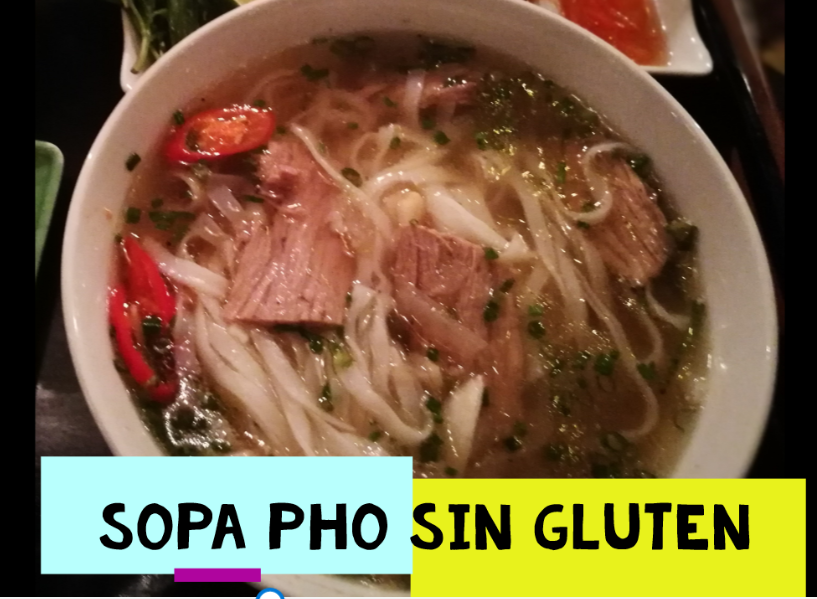 Sopa Pho vietnamita sin gluten