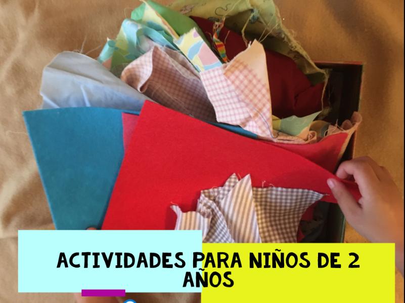 Actividades para niños de 2 años