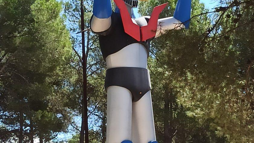 La estatua de Mazinger Z