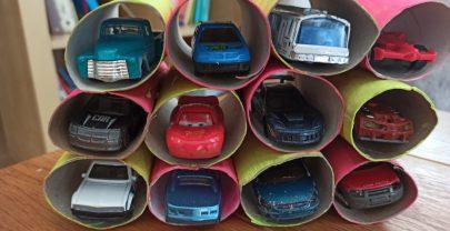 DIY: Un parking de coches
