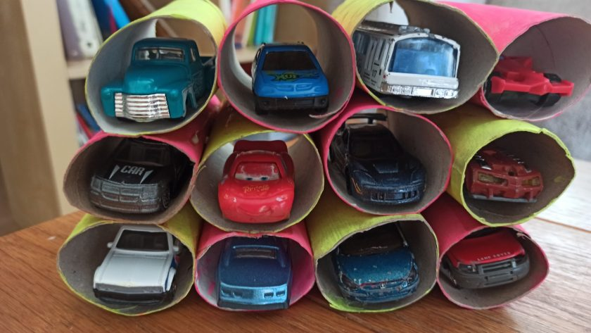 DIY: Un parking de coches