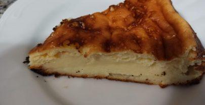 Tarta de queso en la thermomix sin gluten