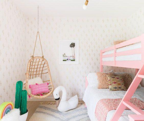 Habitaciones infantiles estrechas