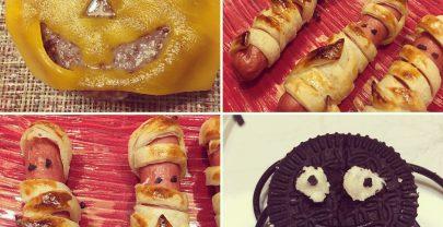 Comida de Halloween sin gluten