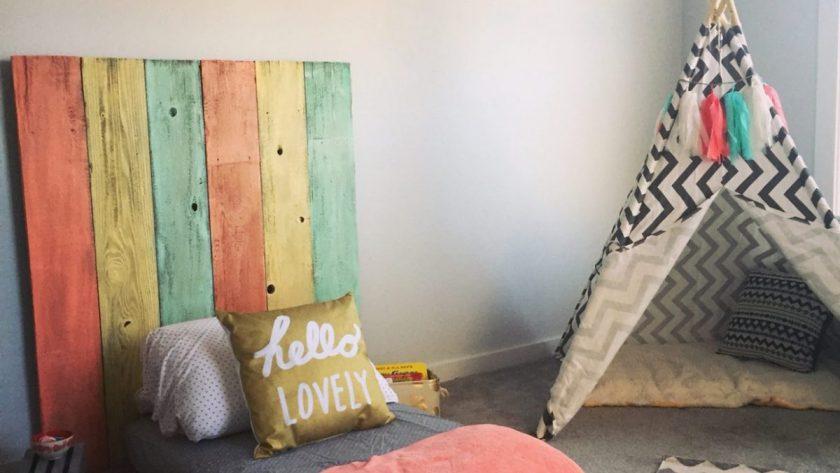 Tipis en las habitaciones Montessori