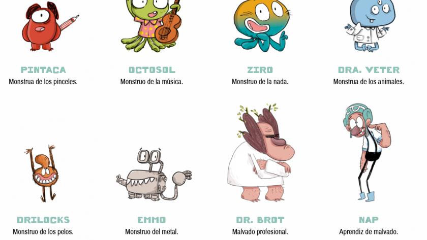Reseña: Agus y los monstruos