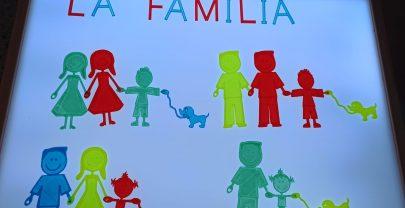Diversidad familiar en la mesa de luz