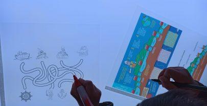 Explicando a los niños el atasco del Canal de Suez