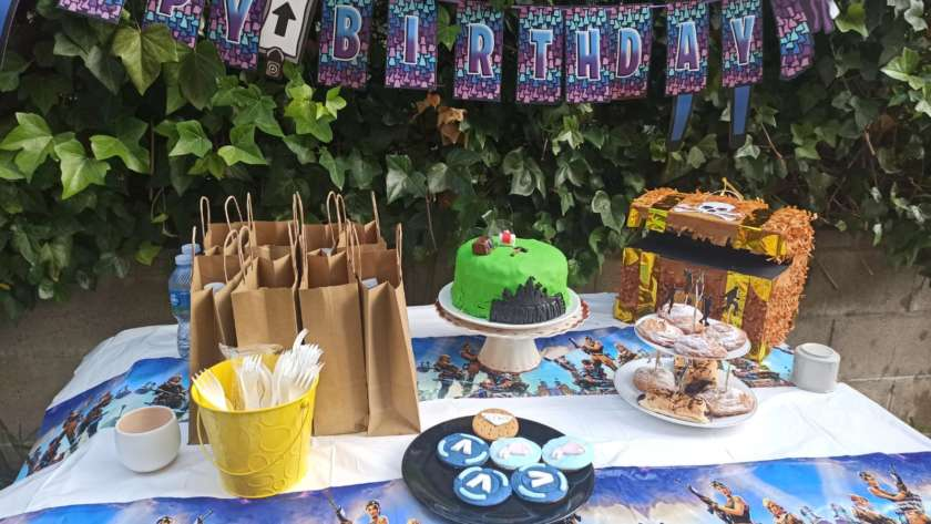 Ideas para una fiesta Fortnite sin gluten