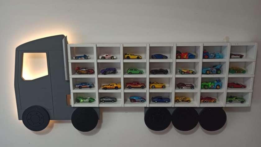 Ideas para organizar los coches de juguete